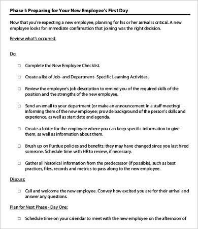 Staff review templates free employee performance review templates new employee checklist template free word pdf documents pronofoot35fo Gallery
