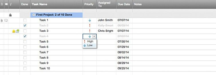 Simple Project Task List Template   Smartsheet