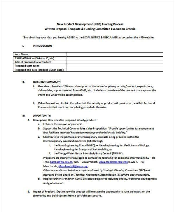 34+ Sample Proposal Templates | Free & Premium Templates