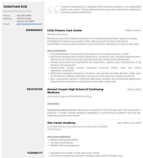 Download Resume Template With Photo | haadyaooverbayresort.com