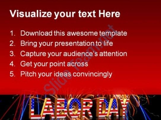 Labor Day Americana PowerPoint Templates And PowerPoint ...
