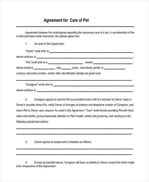 8+ Custody Agreement Form Samples - Free Sample, Example Format ...
