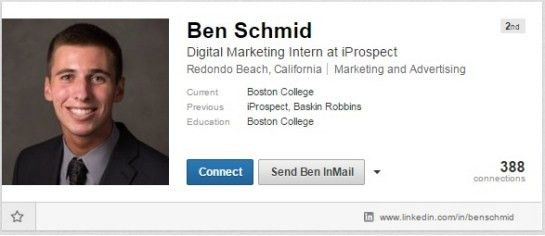 How to Write an Effective LinkedIn Profile - Career Center ...