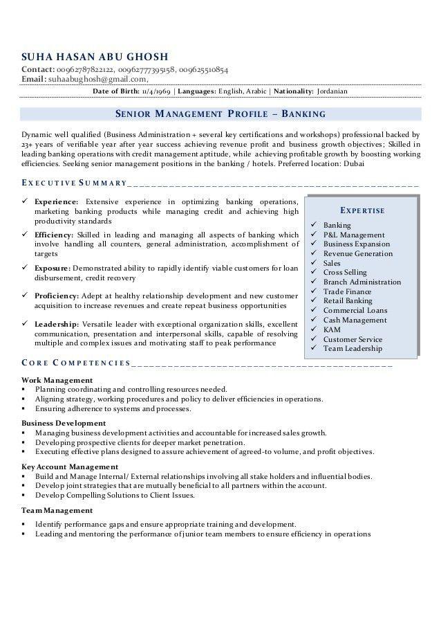 Suha professional banker resume - final