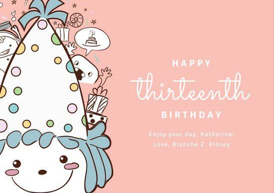 Birthday Card Templates - Canva
