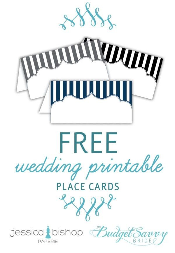 Free Printable Place Cards | Printable place cards, Place cards ...