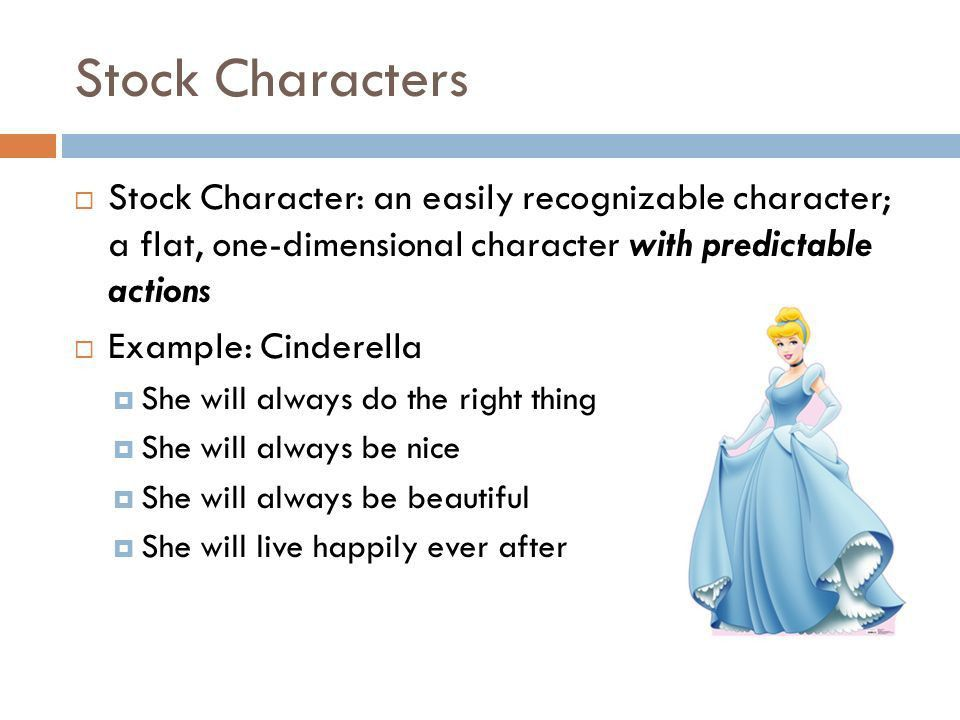 CHARACTERIZATION. Who is this chick? Who is she? What do you know ...