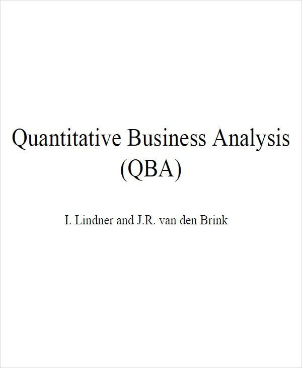 9+ Business Analysis Examples,Samples