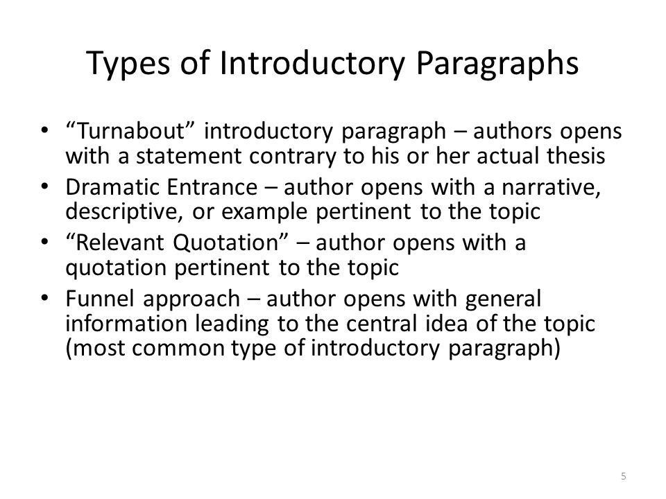 a group of paragraphs that develops a central idea - ppt video ...