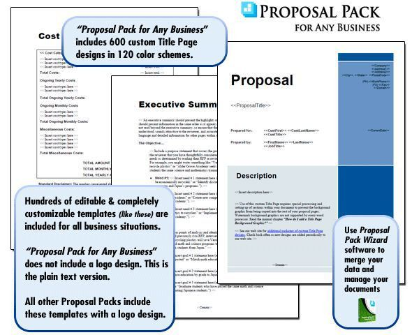 27 best Proposal Templates - Goals and Objectives images on ...