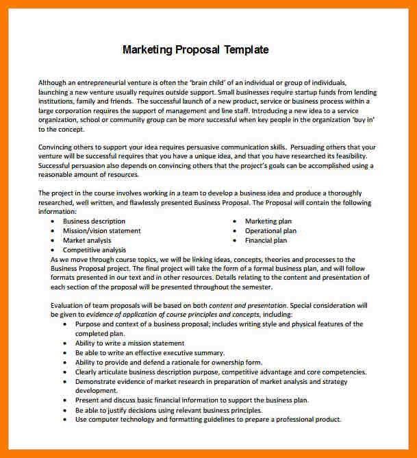 7+ marketing proposal sample | park-attendant