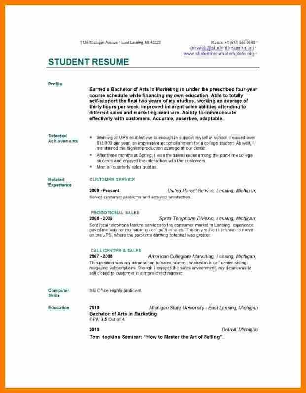 9+ resume for college students | monthly budget forms