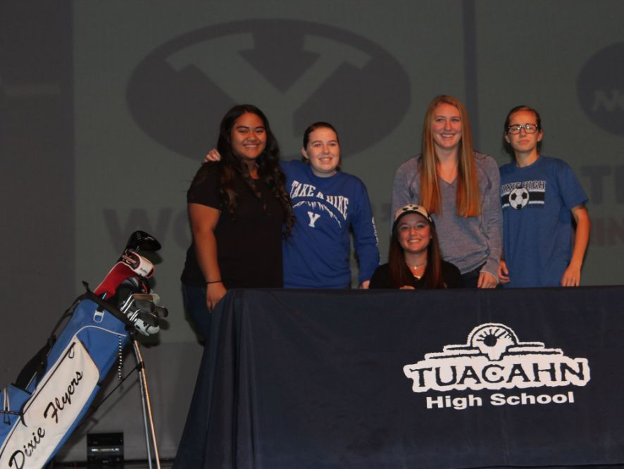 Gracie Richens signs National Letter of Intent with BYU | USA ...