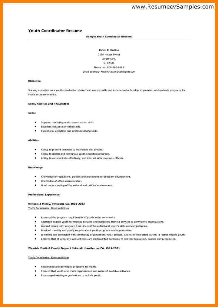 Download Resume Examples For Teens | haadyaooverbayresort.com