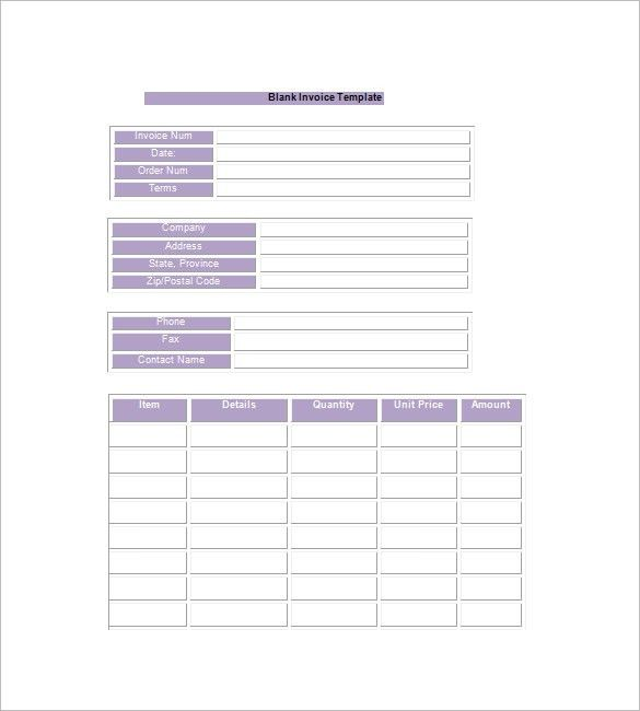 Download Invoice Template Google Docs