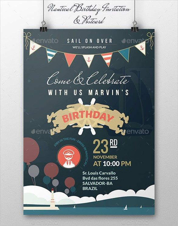 21+ Birthday Invitation Templates – Free Sample, Example, Format ...