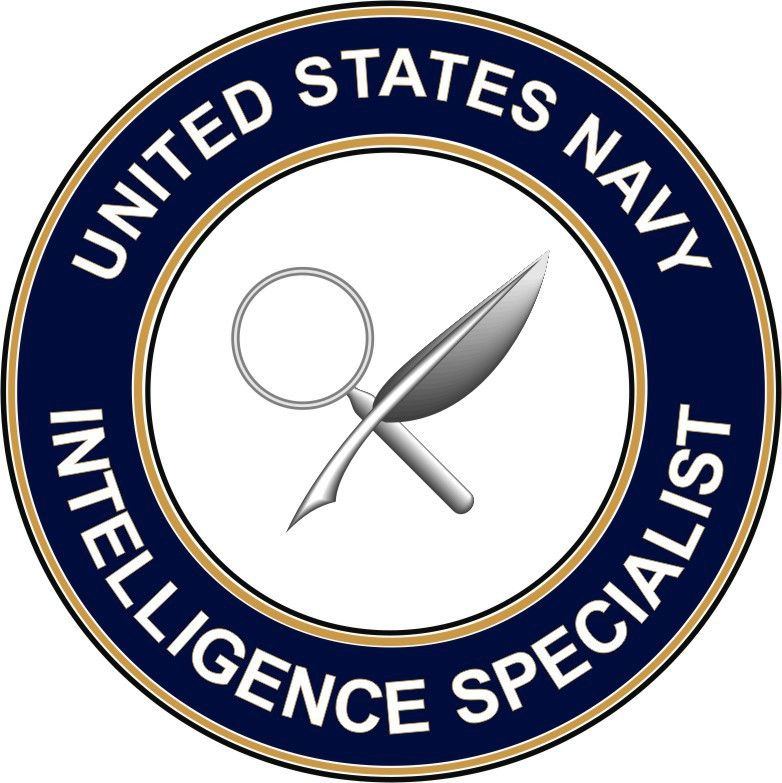 Navy Intelligence Specialist IS decal