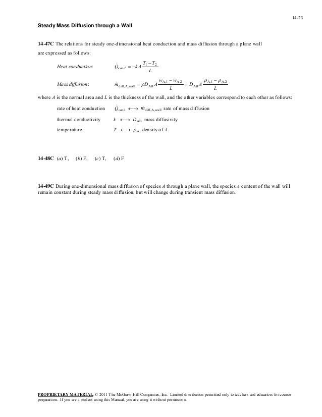 Transferencia de calor y masa 4ed yunus cengel solucionario cap 14