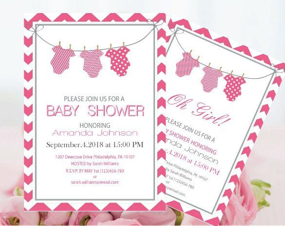 Free Baby Shower Invitations Templates Pdf - marialonghi.Com