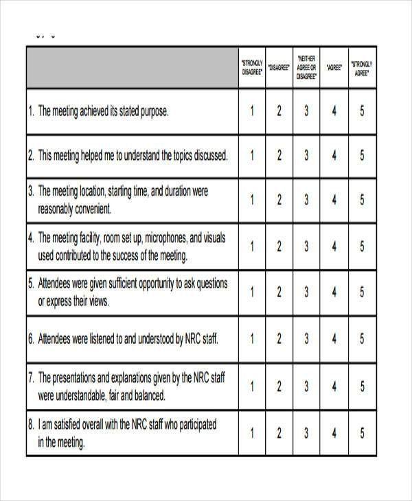 8+ Staff Feedback Form - 8+ Free Documents in Word, PDF
