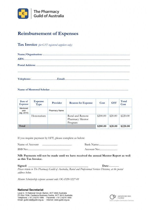 Download Simple Tax Invoice Template Australia | rabitah.net