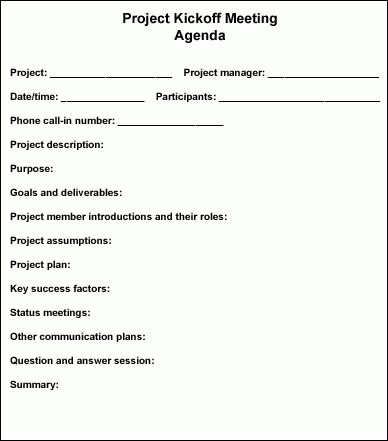Follow these steps to conduct an effective project kickoff meeting ...