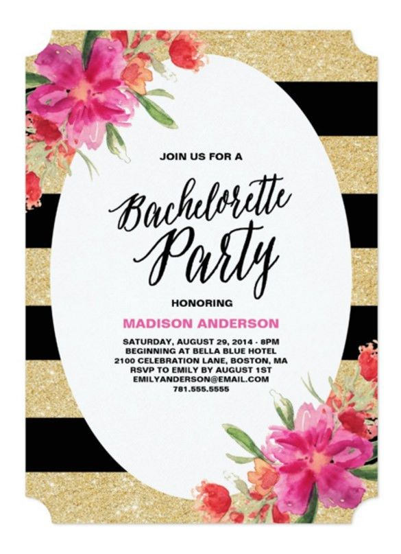 19+ Bachelorette Invitation Templates – Free Sample, Example ...