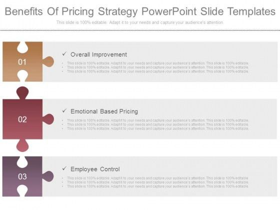 Benefits Of Pricing Strategy Powerpoint Slide Templates ...