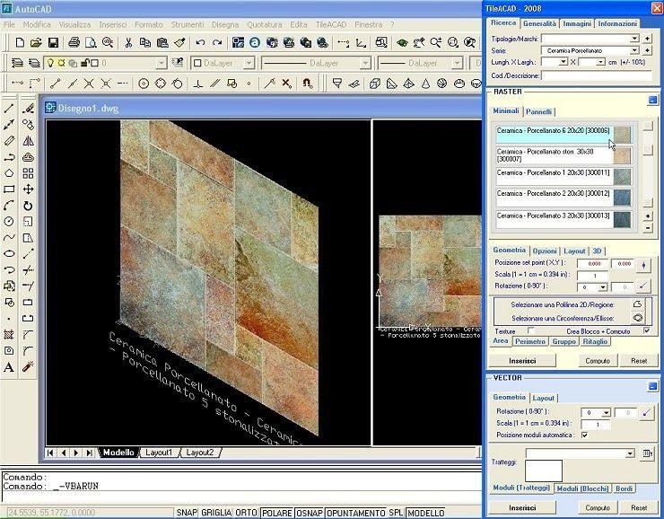 Omni Data: software per progettazione CAD rivestimenti in ceramica ...