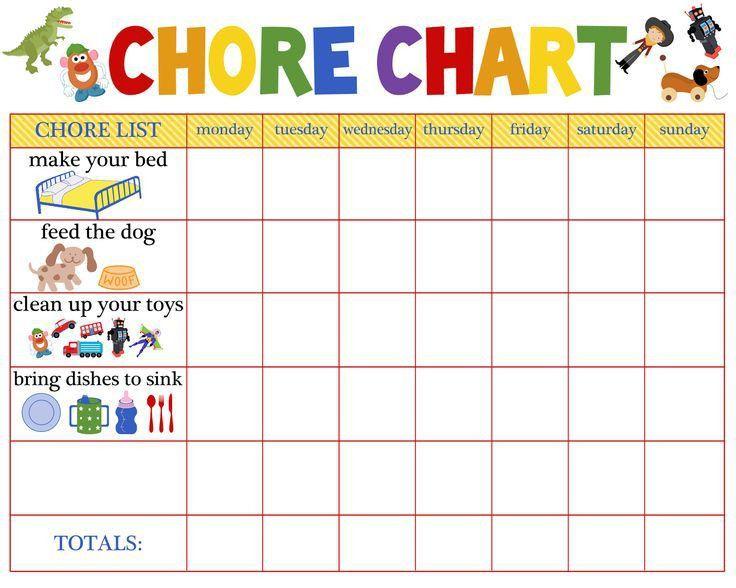 Best 25+ Printable chore chart ideas on Pinterest | Chore chart ...