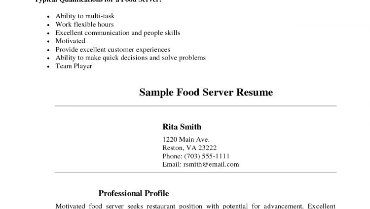 sample waitress resume waitress resume samples functional resume ...