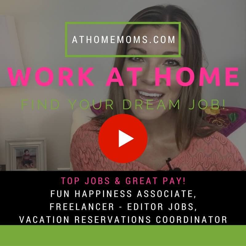 Fun and Flexible Work at Home Jobs for Moms - At Home Moms