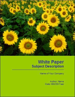 White Paper Templates - Proposal Writing Tips