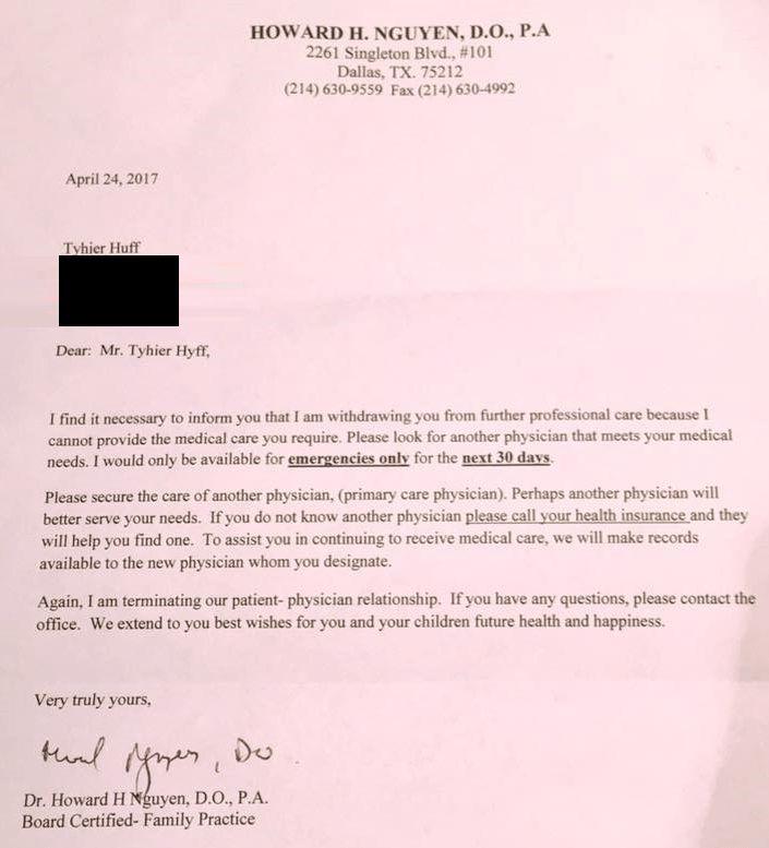 Dallas Dr. Drops Patient with Letter After Patient Asks About PrEP ...