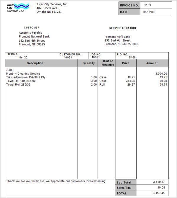 AR: Invoice Processing