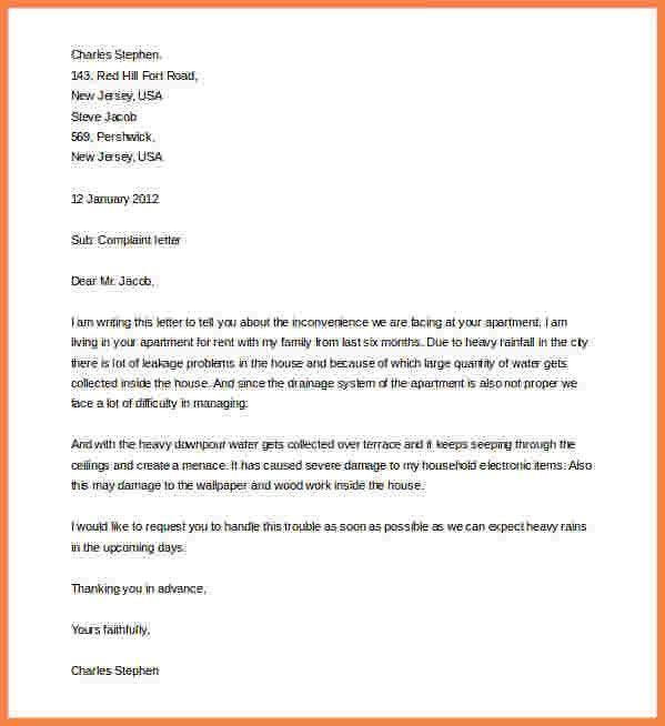 8+ complaint letter formats | Sales intro letter