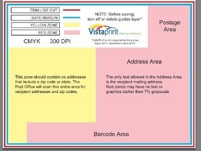 postcard mailing template