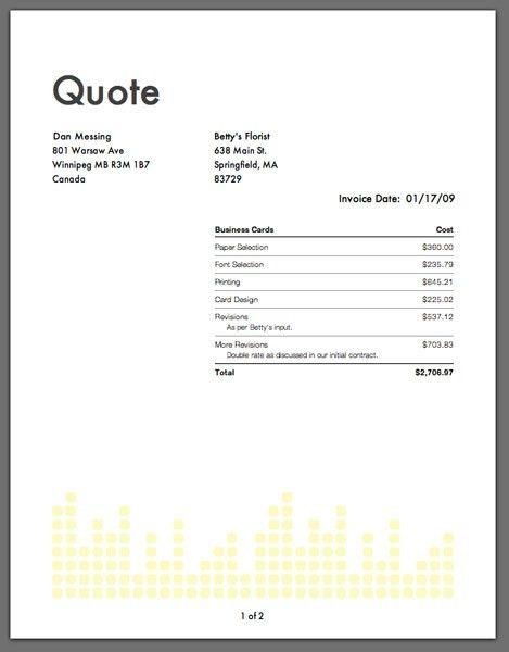 Job Invoice Templates. Adobe Pdf | Microsoft Word Free Work Order ...