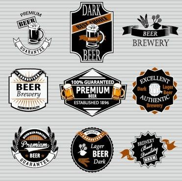 Beer label vector free vector download (8,358 Free vector) for ...