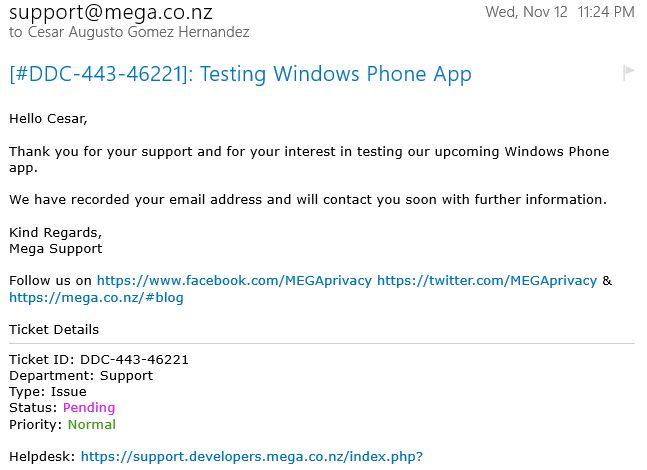 MEGA requiere de testers - Desarrollo - Grupo Android