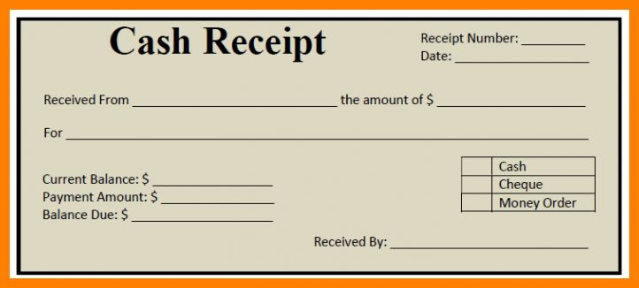 8+ cash receipt format in word | sephora resume
