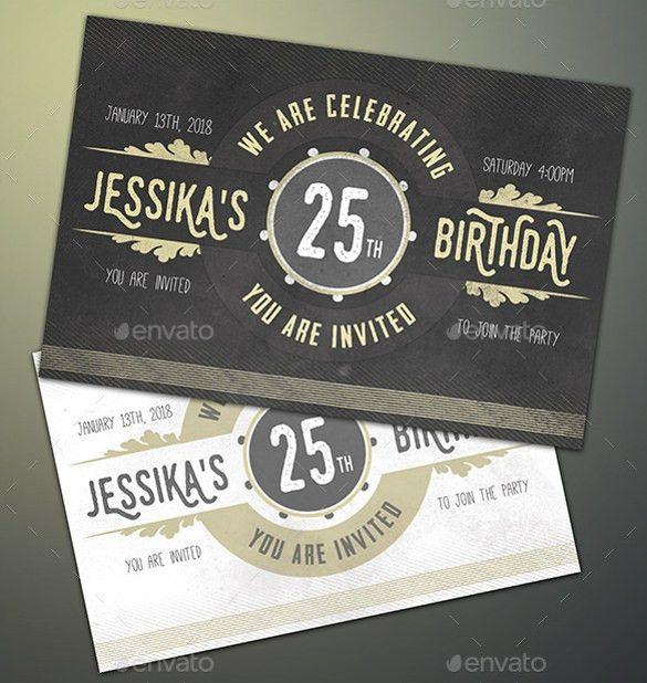 34+ Invitation Templates - Free Word, PSD, Vector Illustrator ...