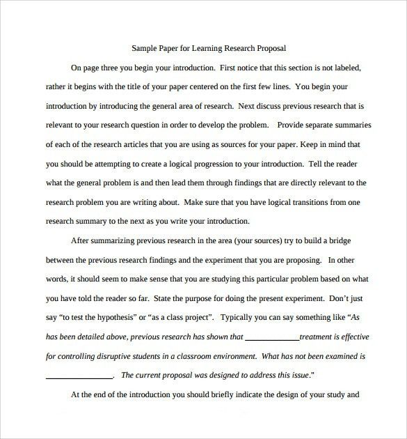 Proposal For An Essay Research Essay Proposal Template Research Paper Proposal Template  Argumentative Essay Examples High School also Persuasive Essays Examples For High School Example Research Paper Research Paper The Modern Language  Essay On English Teacher