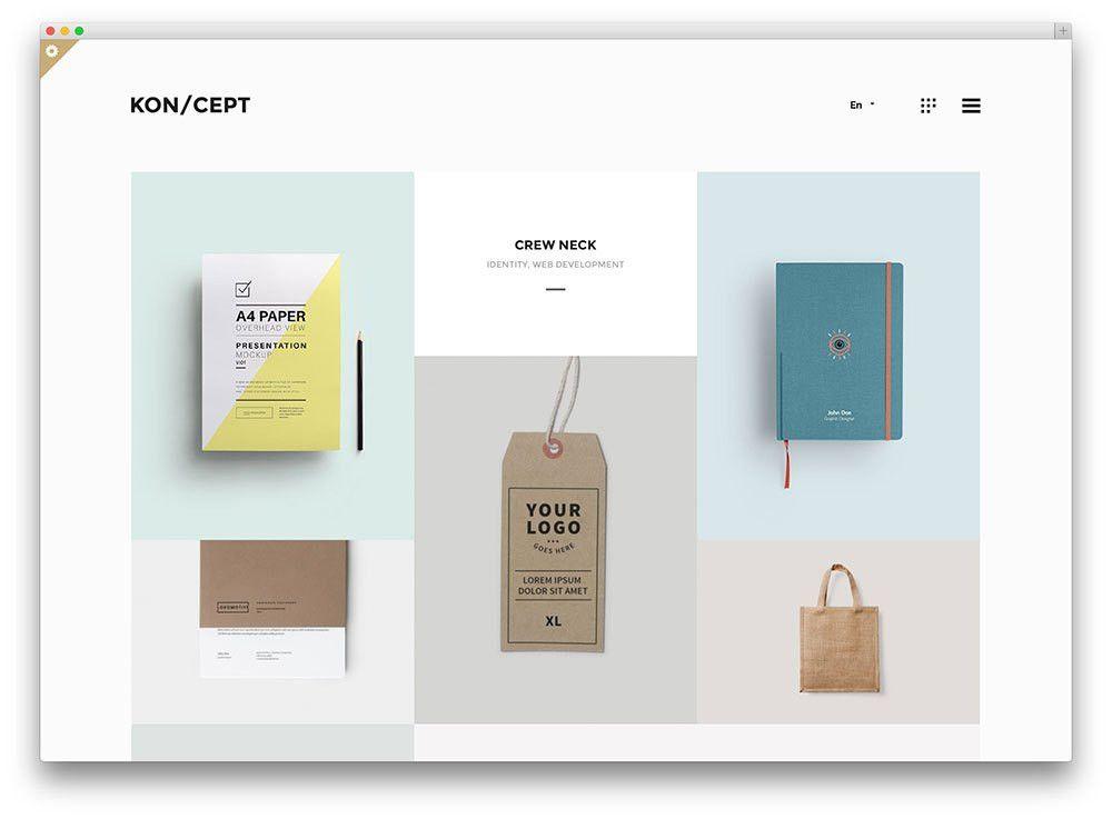 15 Stunning & Minimal Art WordPress Themes 2017 - Colorlib