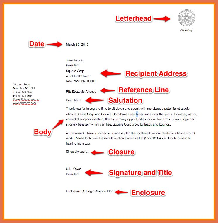 business letter format example | bio example