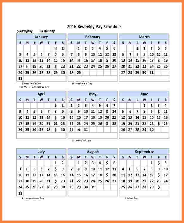 10+ payroll calendar template 2017 | Securitas Paystub