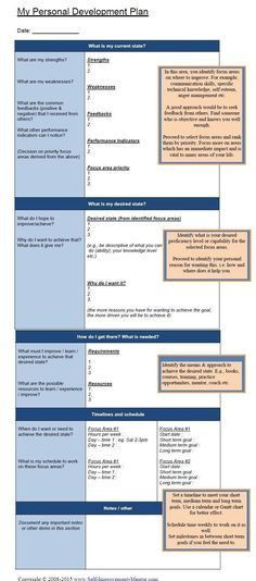 Directions Please | Goals template, Life plan template and March