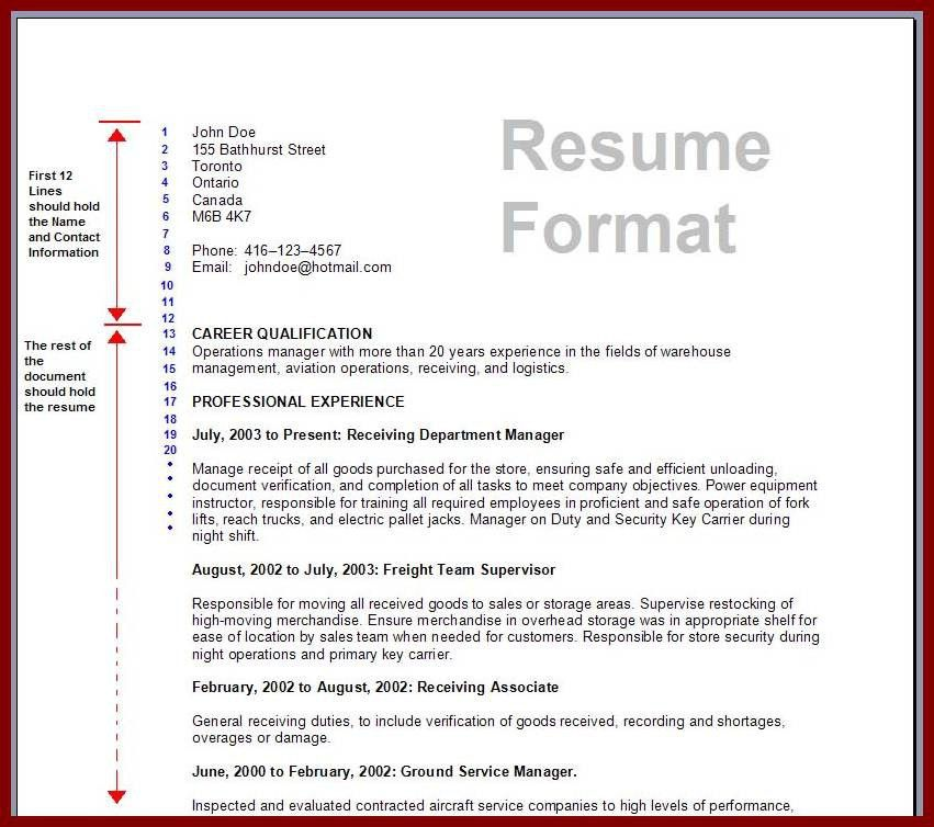 Download Preparing A Resume | haadyaooverbayresort.com