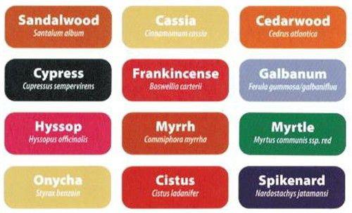 Rectangle Label Set #7 - Oils of Ancient Script