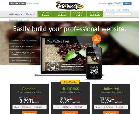 How to Create a Website-Godaddy website builder free - Trustemo